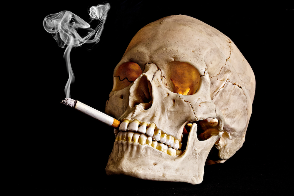 how to not put on weight when quitting smoking